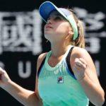 Sofia Kenin scraps her way past Ashleigh Barty to reach first grand-slam final