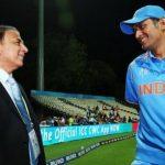 Sunil Gavaskar has his say on MS Dhoni's future