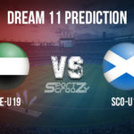 UAE-U19 vs SCO-19 Dream11 Prediction, Live Score & UAE U19 v Scotland 19 Dream11 Team: ICC Under19 World Cup