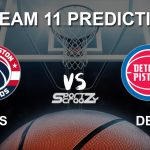 WAS vs DET Dream11 Prediction, Live Score & Washington Wizards vs Detroit Pistons Dream Team: NBA 2019-20 Regular Season