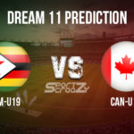 ZIM-U19 vs CAN-U19 Dream11 Prediction, Live Score & Zimbabwe U19 vs Canada U19 Cricket Match Dream11 Team: ICC U19 Cricket World Cup 2020