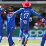 Afghanistan Under 19 starts the tournament with a commanding 7 wicket win over South Africa