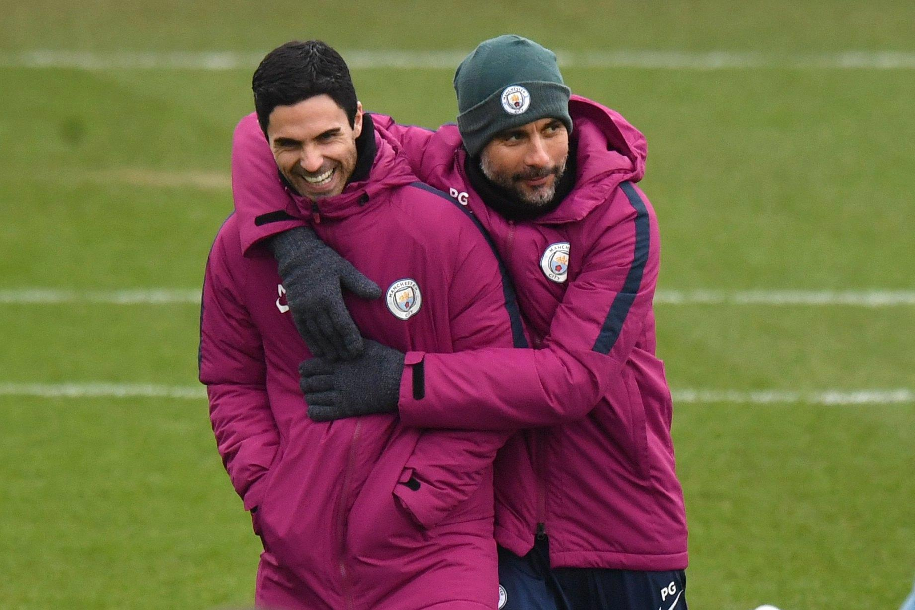 Pep Guardiola opens up on Mikel Arteta and Liverpool title challenge