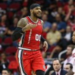 Trail Blazer's Carmelo Anthony becomes the 18th player to cross 26,000 Points in NBA