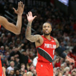 NBA - Red-hot Damian Lillard had his first triple-double as Portland beat Rockets 125-112