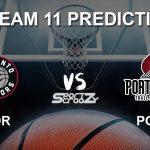 TOR vs POR Dream11 Prediction, Live Score & Toronto Raptors vs Portland Trail Blazers Basketball Match Dream Team: NBA 2019-20 Regular Season