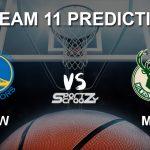 GSW vs MIL Dream11 Prediction, Live Score & Golden State Warriors vs Milwaukee Bucks Basketball Match Dream Team: NBA 2019-20 Regular Season