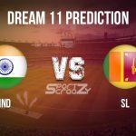 IND vs SL Dream11 Prediction, Live Score & India vs Sri Lanka Match Dream11 Team: 1st T20I