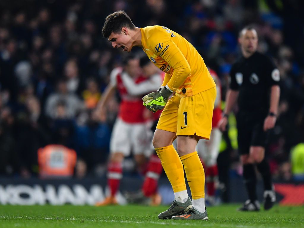 Frank Lampard calls for strong mentality by Kepa
