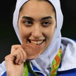 Iran's Only Female Olympic Medalist Says She's Permanently Left Country