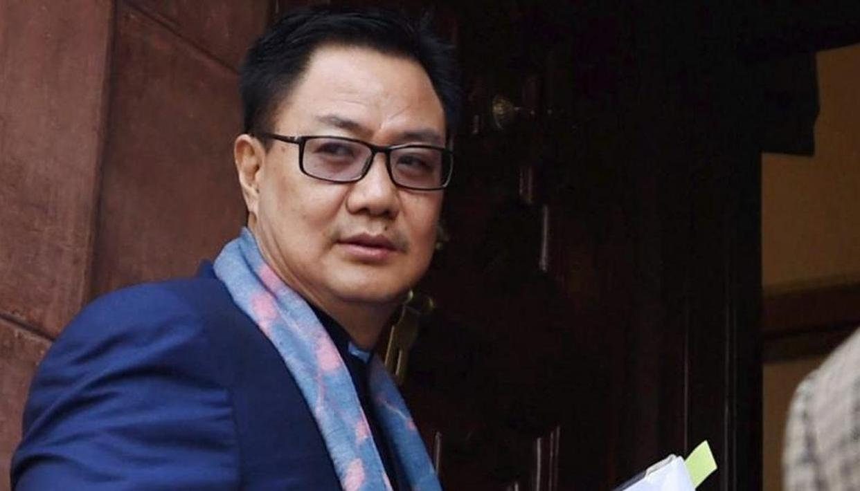 Sports Minister Kiren Rijiju and SAI officials resume work, taking all precautions