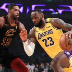 LeBron James help Lakers to thrash Cavaliers