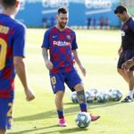 Barcelona loanee talks about the training session at Camp Nou