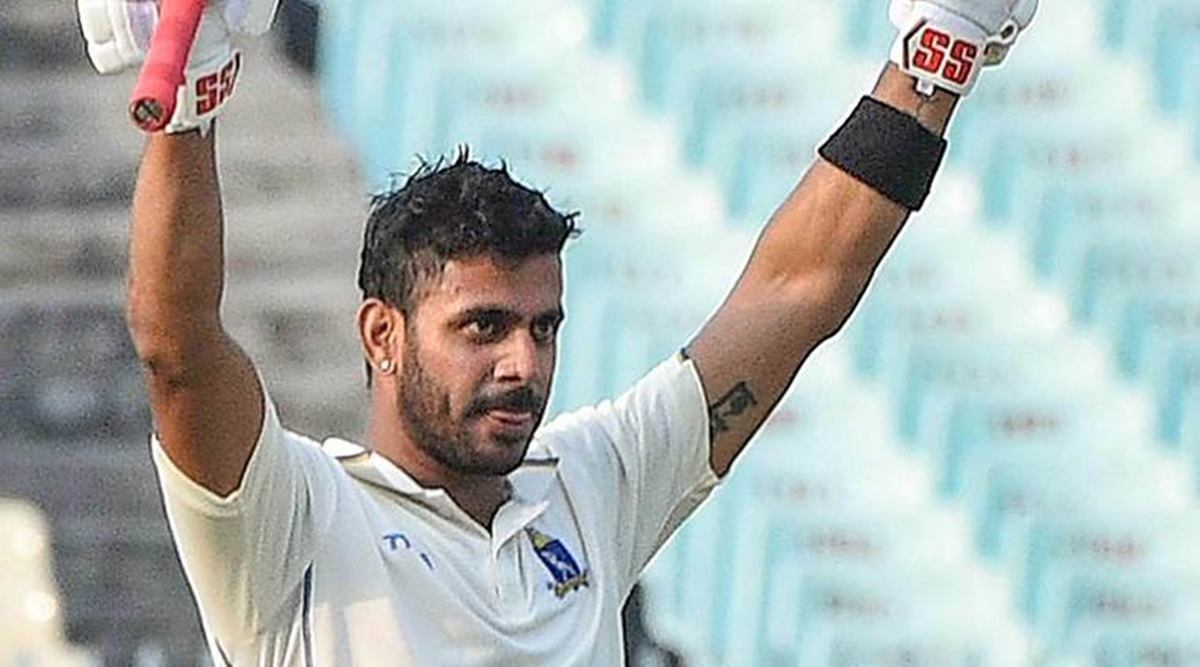 """Anything is possible in this world'': Manoj Tiwary after his maiden first class triple century"