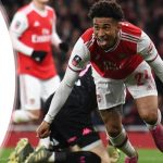 """We didn't expect it from Leeds""-Reiss Nelson"