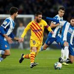 WATCH: Lionel Messi nearly pulls off an incredible assist against Espanyol