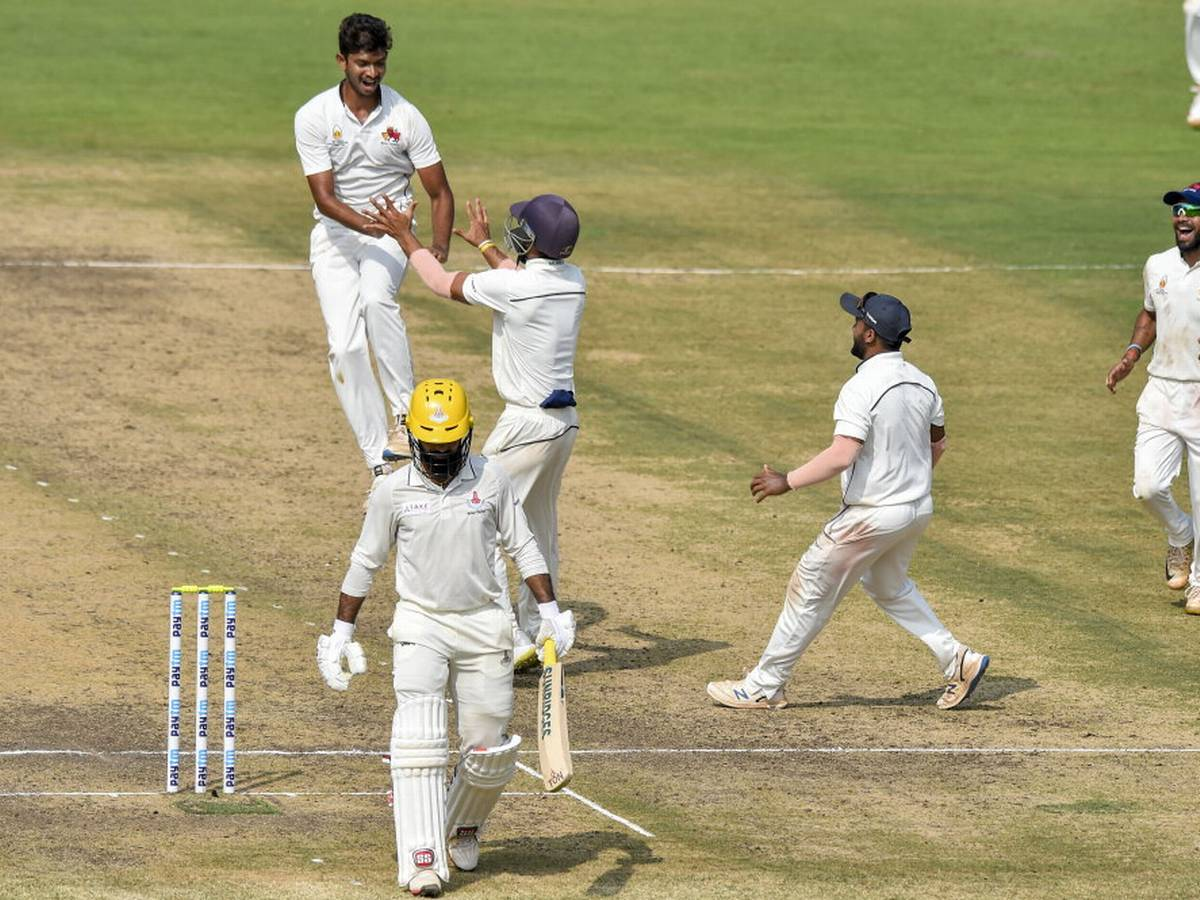 Ranji Trophy round 6 results and points table.