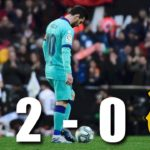 Barcelona drop points again as Valencia got the better of Catalans