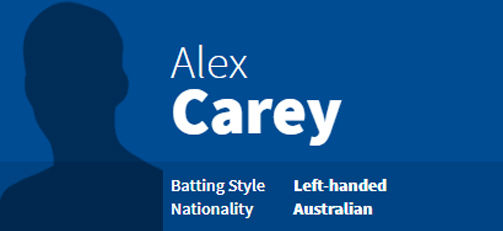 Alex Carey