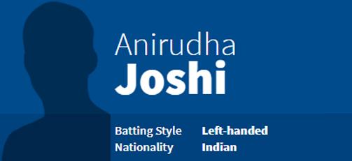 Anirudha Joshi