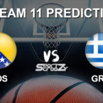 BOS vs GRE Dream11 Prediction, Live Score Bosnia & Herzegovina vs Greece Basketball Match Lineups: FIBA EuroBasket Qualifiers 2021