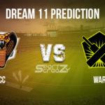 CC vs WAR Dream11 Prediction, Live Score & Cape Cobras vs Warriors Cricket Match Dream11 Team: Momentum One Day Cup 2020
