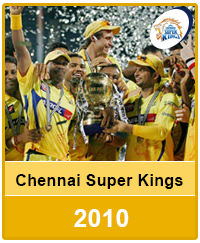 Chennai Super Kings 2010