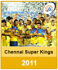 Chennai Super Kings 2011