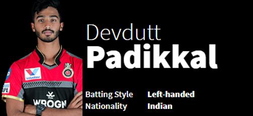 Devdutt Padikkal