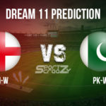 EN-W vs PK-W Dream11 Prediction, Live Score & England Women Vs Pakistan Women Cricket Match Dream11 Team: ICC Women's T20 World Cup 2020 Match 12