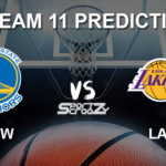 GSW vs LAL Dream11 Prediction, Live Score & Golden State Warriors Vs Los Angeles Lakers Basketball Match Dream11 Team: NBA 2019-20 Regular Season