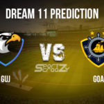 GUJ vs GOA Dream11 Prediction, Live Score & Gujarat vs Goa, Cricket Match Dream11 Team: Ranji Trophy, 1st Quarter Finals