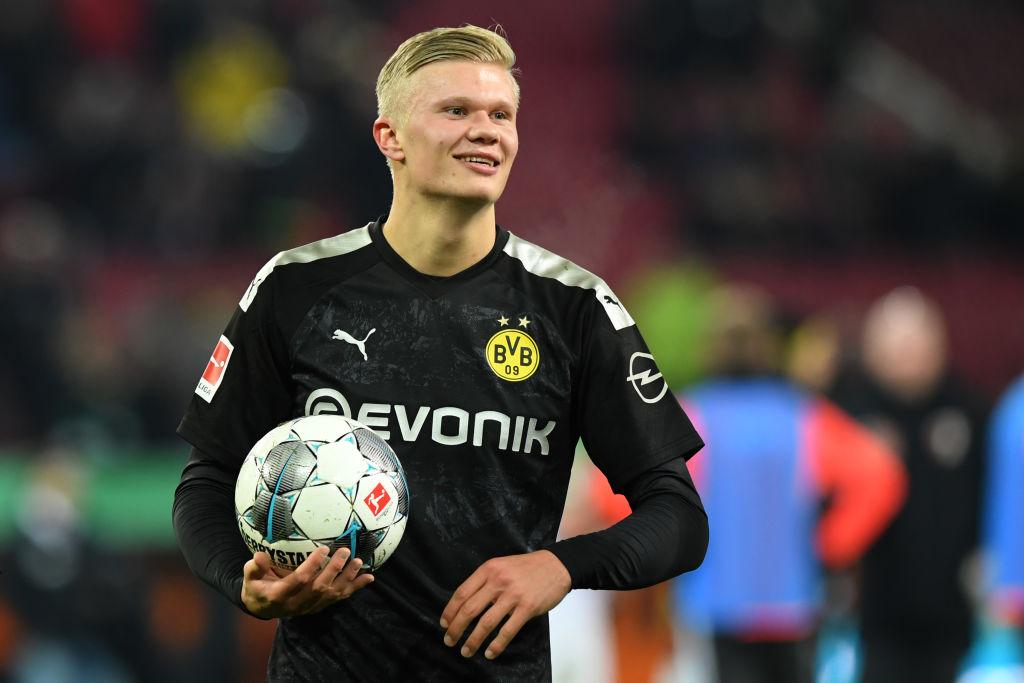 Erling Haaland Wins Bundesliga Player Of The Month After