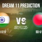 IN-U19 vs BD-U19 Dream11 Prediction, Live Score & India U19 vs Bangladesh U19 Dream11 Team: U19 World Cup Final