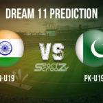 IN-U19 vs PK-U19 Dream11 Prediction, Live Score & India U19 vs Pakistan U19, Cricket Match Dream11 Team: ICC U19 World Cup