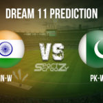 IN-W vs PK-W Dream11 Prediction, Live Score & India Women vs Pakistan Women Cricket Match Dream11 Team: ICC Women's T20I World Cup 2020