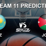 KAZ vs JOR Dream11 Prediction, Live Score & Kazakhstan vs Jordan Basketball Match Lineups: FIBA Asia Cup 2021 Qualifiers