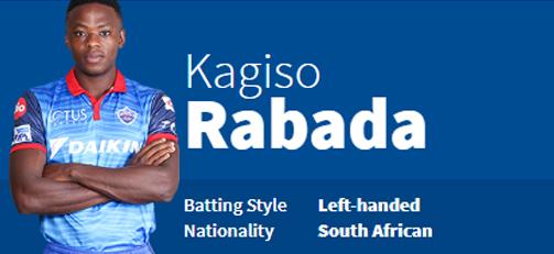Kagiso Rabada