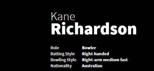 Kane Richardson