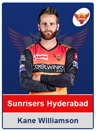 Kane Williamson(Sunrisers Hyderabad)
