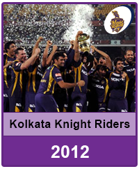 Kolkata Knight Riders 2012