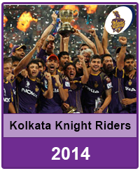Kolkata Knight Riders 2014