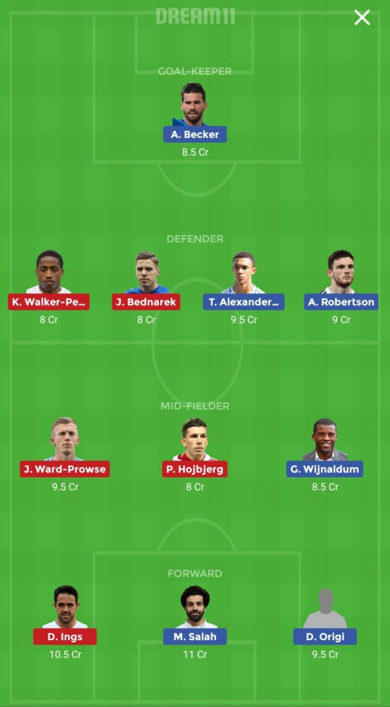 LIV vs SOU Deam11 Predicted Dream11 Team