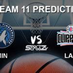 MIN vs LAC Dream11 Prediction, Live Score & Minnesota Timberwolves vs Los Angeles Clippers Basketball Match Dream Team: NBA 2019-20 Regular Season