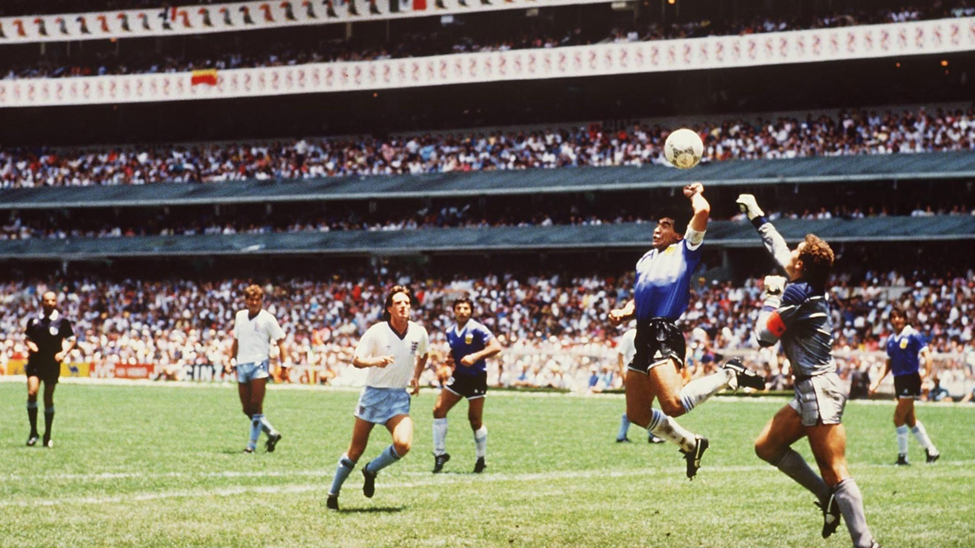Maradona's Hand of God and Goal of the Century