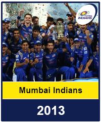 Mumbai Indians 2013
