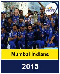 Mumbai Indians 2015