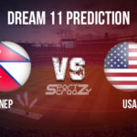 NEP vs USA Dream11 Prediction, Live Score & Nepal vs USA, Cricket Match Dream Team: ICC CWC Challenge League 2019-22, Match- 06