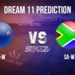 NZ-W vs SA-W Dream11 Prediction, Live Score & New Zealand Women v South Africa Women Dream11 Team: 1st T20