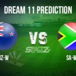 NZ-W vs SA-W Dream11 Prediction, Live Score & New Zealand Women vs South Africa Women Cricket Match Dream11 Team: 3rd T20I